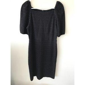 Ann Taylor Sheath Dress Black Size 4